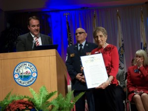 Yvonne Receives Female Veteran of the Year Award
